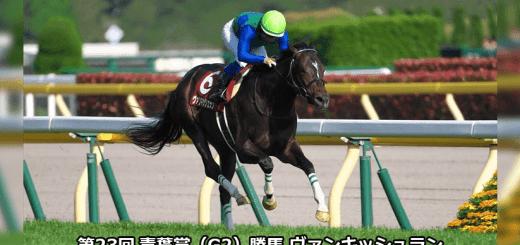 第23回青葉賞(G2)勝馬ヴァンキッシュラン