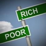 お金持ちと貧乏人の違い3つ
