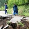 熊本・西原の大切畑ダム、決壊の恐れ 村民に避難指示 2016年4月16日(土) 6時1分掲載