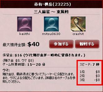 三麻_ウマ