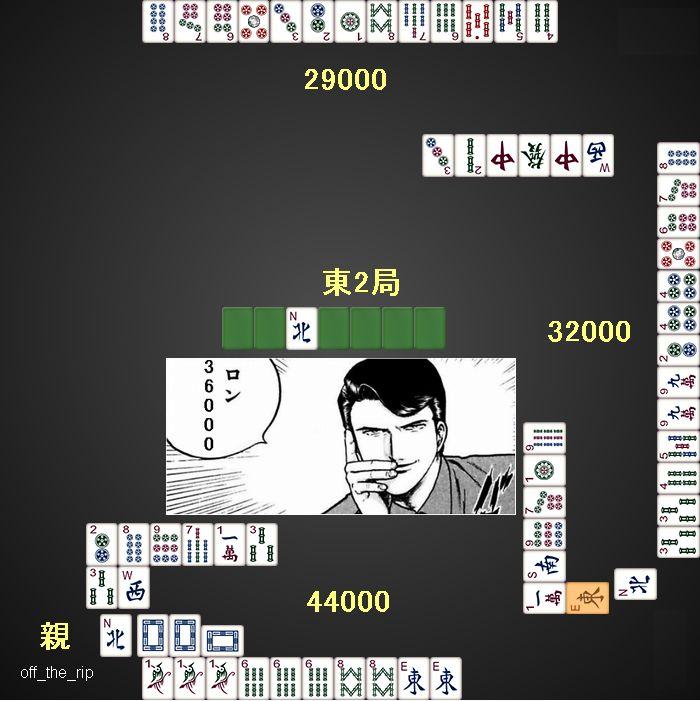 牌のめぐりあわせ_36000