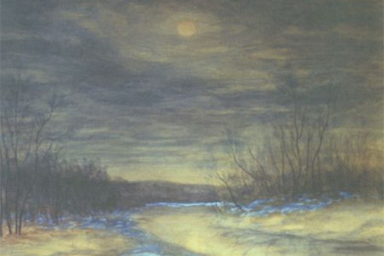 Зимняя ночь. 1953г.