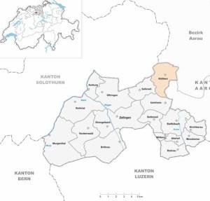 Die Gemeinde Kölliken ist Teil des Bezirks Zofingen.