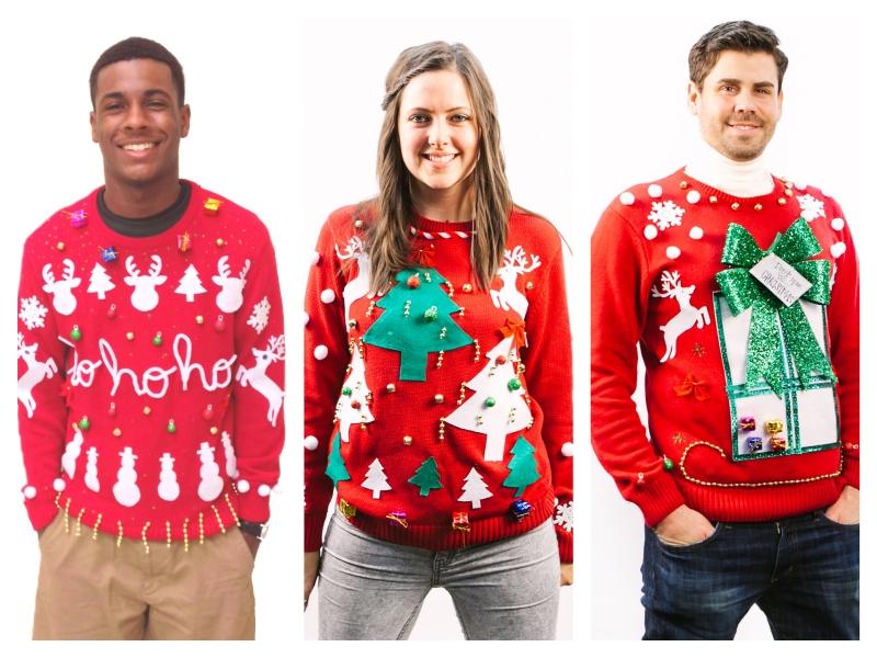 本気でダサい!アグリー・クリスマス・セーターを着てクリスマスを盛り上げよう!