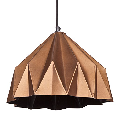h ngelampe crease deckenlampe h ngeleuchte deckenleuchte lampe esstisch metall kupfer. Black Bedroom Furniture Sets. Home Design Ideas