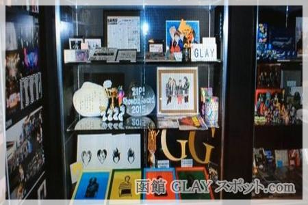 函館 GLAY スポット.com G4 Space SODAPOP 店内 展示品 オフィシャルショップ 写真 画像 撮影禁止