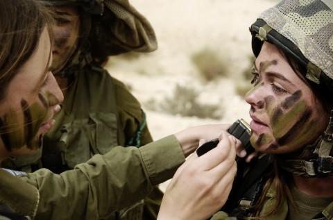 イスラエル軍の女性兵士12