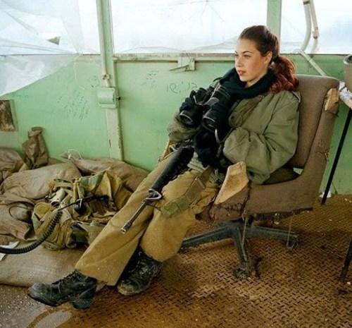 イスラエル軍の女性兵士121