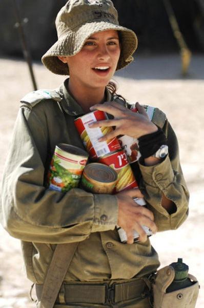 イスラエル軍の女性兵士123