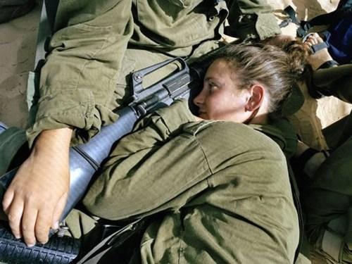 イスラエル軍の女性兵士152