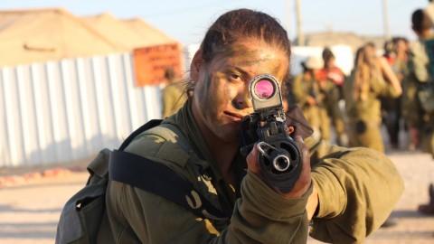 イスラエル軍の女性兵士28