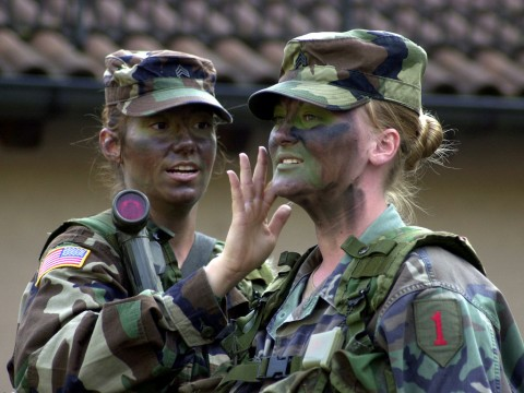 イスラエル軍の女性兵士44