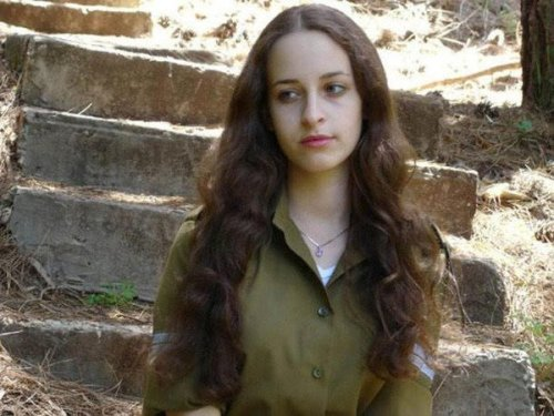 イスラエル軍の女性兵士75