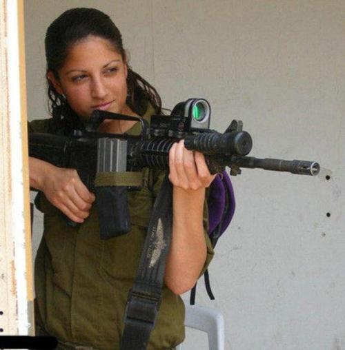 イスラエル軍の女性兵士78