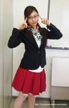 眼鏡をかけた美人女子アナウンサー画像20