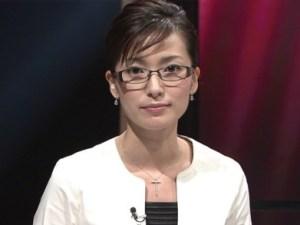 眼鏡をかけた美人女子アナウンサー画像70