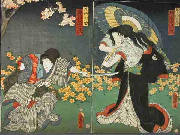 浮世絵の壁紙24
