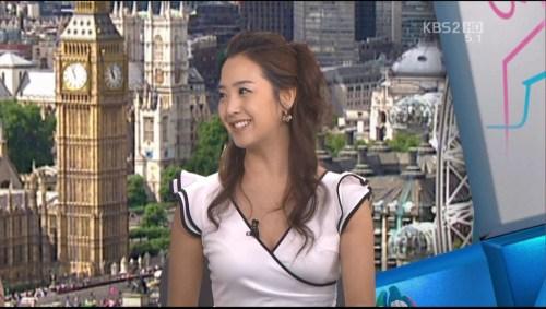 韓国の女子アナのスタイルがよかった.38