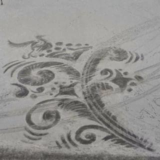 雪かきアート16