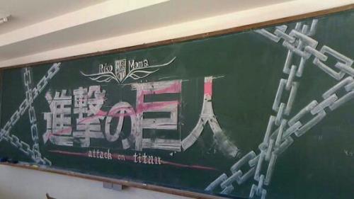 黒板アート3