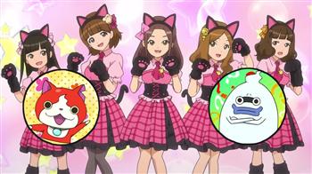 c8ae839d53e5a47720909b9a110c2614 妖怪ウォッチのアニメに登場するアイドルグループはAKB48のパクリ!? 妖怪ウォッチ都市伝説