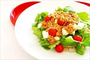 納豆サラダ 野菜