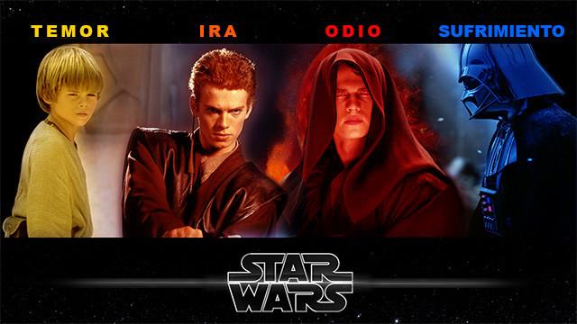 Star Wars (ep. I al ep. VI): la biografía de Anakin Skywalker