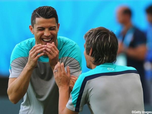 Portugal Training & Press Conference - 2014 FIFA World Cup Brazil