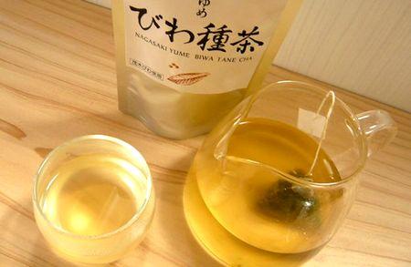 びわの種茶