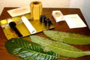 びわの葉温灸法