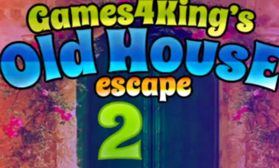 Flash games4king old house escape 2 for Classic house walkthrough