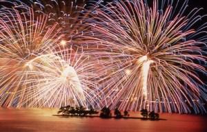 松江水郷祭,宍道湖,花火,開催場所,松江
