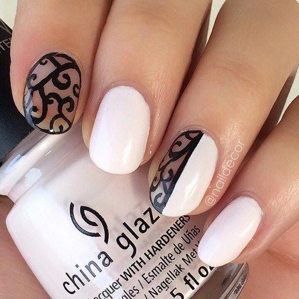 Black Prom Nails