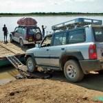 Vår jeep - Tsiribihina flod
