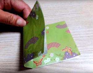 折り紙 更に半分
