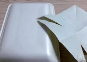 折り紙 トレー