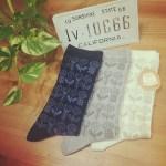 【しまむら】ミナペルホネン風オーガニックコットン靴下が3足¥780で即買い?!