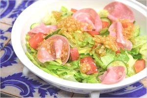 玉ねぎ酢 ドレッシングサラダ