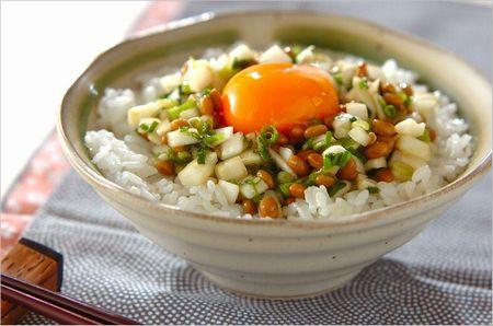 玉ねぎ納豆