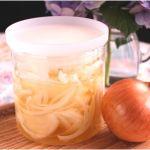 【酢玉ねぎ】 みじん切りでの作り方や汁の活用法はここ
