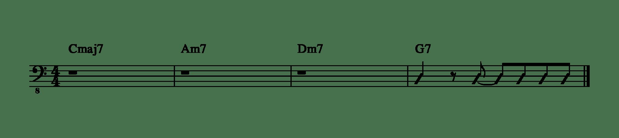 リズム譜1-1