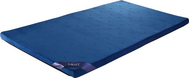 腰痛マットレスMLILYエムリリー】マットレス トッパー 優反発&高反発の二層構造 シングル 厚さ5cm