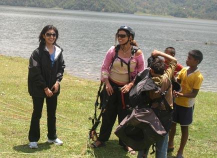 Himani_2-paragliding - krishna mani baral
