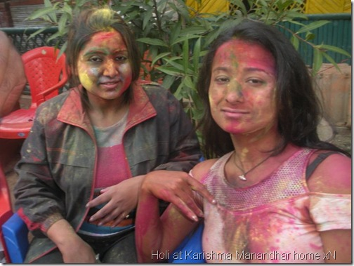 holi at karishma manandhar house_099