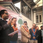 A group of film artists join Nepali Congress party