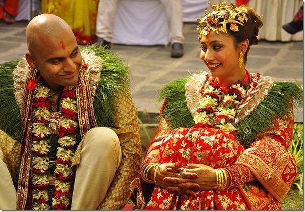 Jharana-Bajracharya-Wedding-nepali tradition