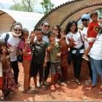 Nepali film artists build temporary residences