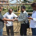 Rekha Thapa supports four earthquake victim film journalists