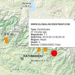 Another major earthquake strikes Nepal after two weeks of deadly earthquake
