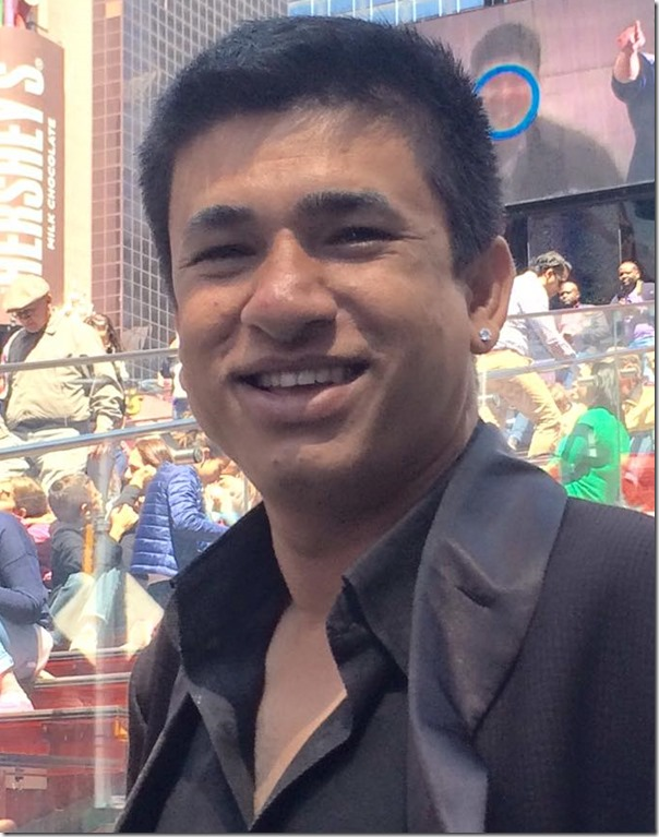 Sudarshan Gautam threatened a journalist for writing about his relationship with Rekha Thapa